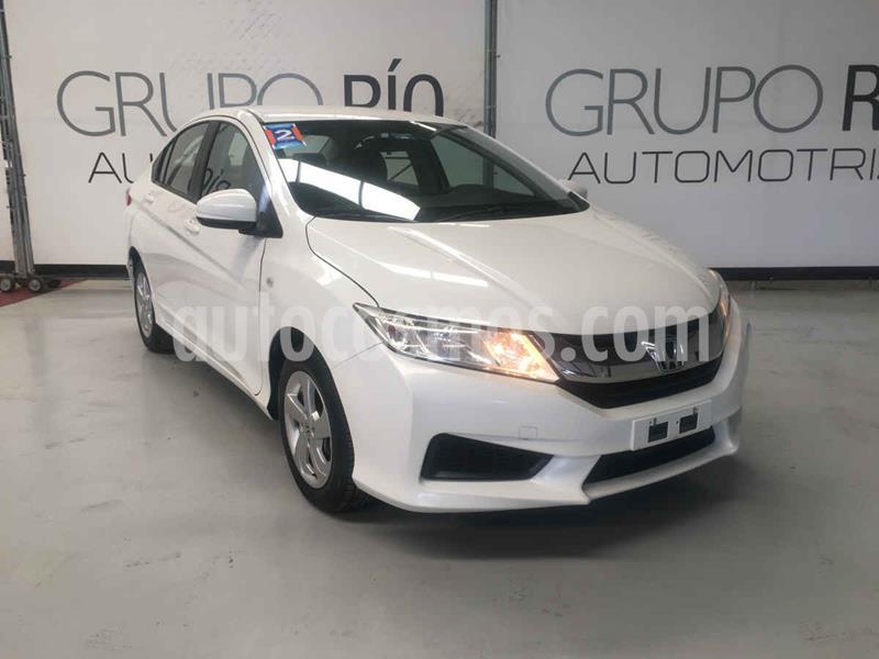 Honda City LX 1.5L Aut usado (2014) color Blanco precio $159,000
