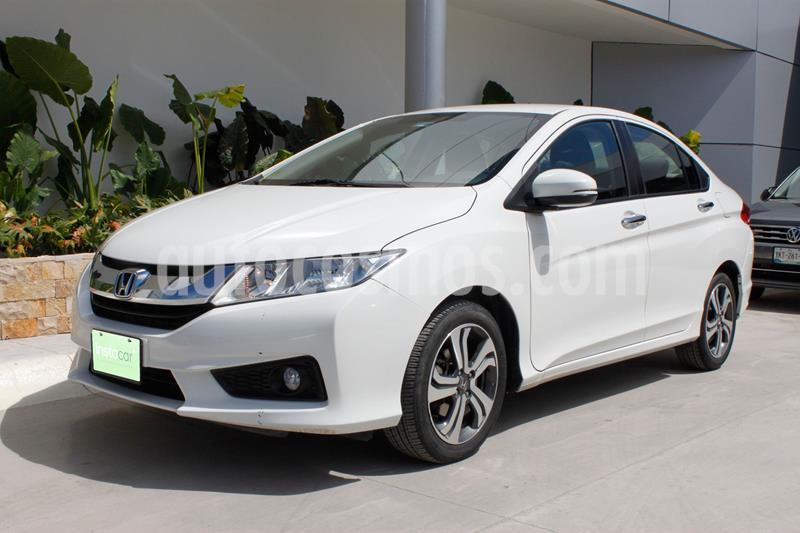 Honda City EX 1.5L usado (2016) color Blanco precio $185,000