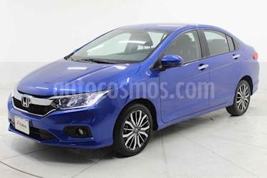 Honda City 4p EX L4/1.5 Aut usado (2018) color Azul precio $269,000