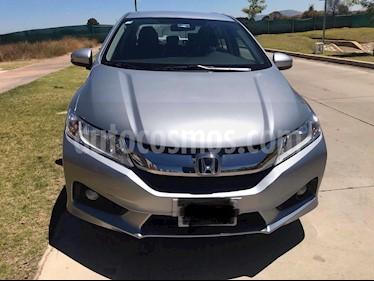 Honda City EX 1.5L Aut usado (2017) color Plata precio $230,000