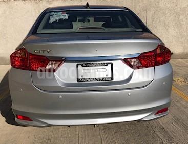 Honda City LX 1.5L Aut usado (2014) color Plata precio $139,000
