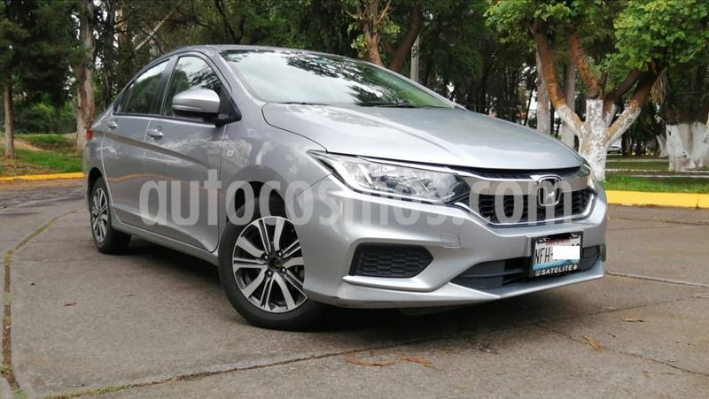 Honda City LX 1.5L usado (2018) color Plata precio $225,000