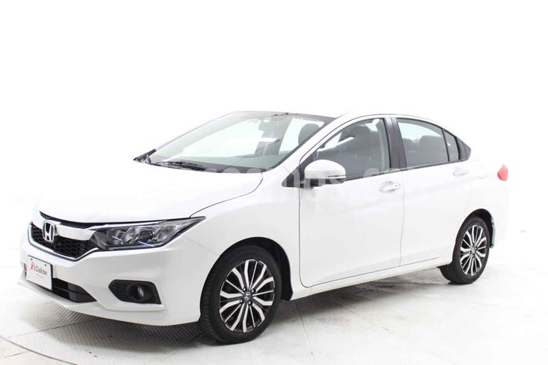 Honda City EX 1.5L Aut usado (2018) color Blanco precio $259,000