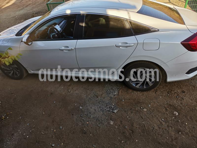 Honda Civic Automatico EX 1.6L 3P usado (2020) color Blanco precio $16.900.000