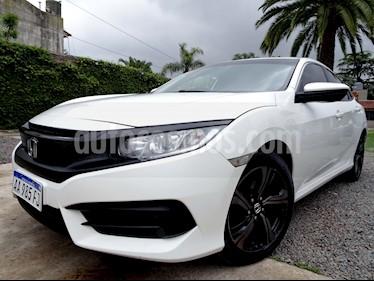 Honda Civic - usado (2017) color Blanco precio $1.057.000