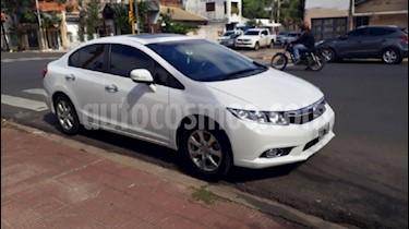 Foto venta Auto usado Honda Civic 1.8 EXS Aut (2013) color Blanco precio $438.000