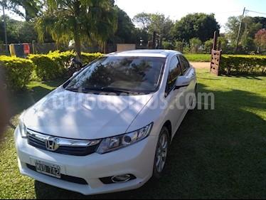 Foto venta Auto usado Honda Civic 1.8 EXS Aut (2013) color Blanco precio $418.000