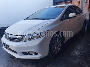 Honda Civic 1.8 EXS Aut usado (2012) color Blanco precio u$s9.500