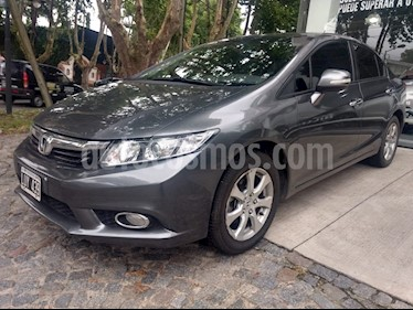 Foto venta Auto Usado Honda Civic 1.8 EXS (2012) color Gris precio $380.000