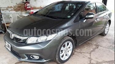 Foto venta Auto usado Honda Civic 1.8 EXS (2014) color Plata Tormenta