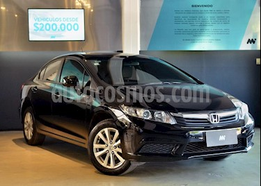 Foto Honda Civic 1.8 LX usado (2014) color Negro precio $599.000