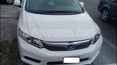 Honda Civic 1.8 LX usado (2013) color Blanco precio $620.000