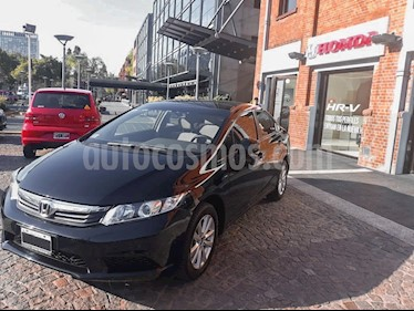 Honda Civic 1.8 LXS Aut usado (2013) color Negro precio $550.000
