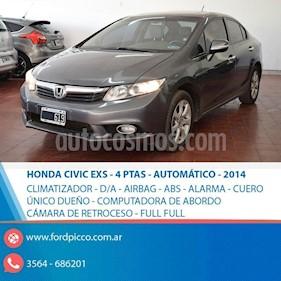 Foto venta Auto usado Honda Civic 1.8 LXS Aut (2014) color Gris Claro precio $460.000