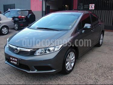 Foto venta Auto usado Honda Civic 1.8 LXS (2014) color Plata Tormenta precio $448.000