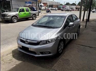 Foto venta Auto usado Honda Civic 1.8 LXS (2013) color Gris Claro precio $380.000