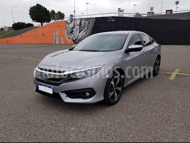 Foto venta Auto usado Honda Civic 2.0 EXL Aut (2018) color Gris Claro precio $1.300.000