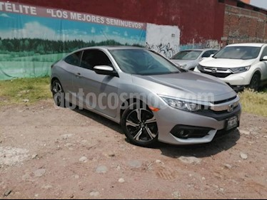 Foto Honda Civic 2P COUPE TURBO CVT 1.5T 174 HP QC RA-17 usado (2016) color Plata precio $269,000