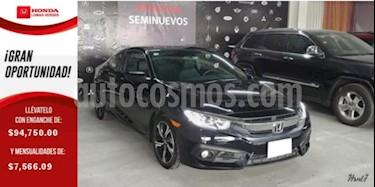 Foto venta Auto usado Honda Civic 2p Coupe Turbo L4/1.5/T Aut (2018) color Negro precio $379,000