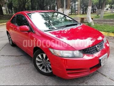 Honda Civic 2p EX Coupe Aut usado (2009) color Rojo precio $114,000