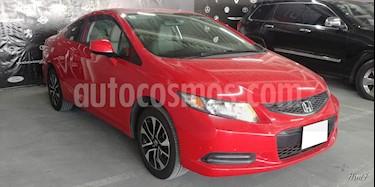 Foto venta Auto usado Honda Civic 2p EX Coupe L4/1.8 Man (2013) color Rojo precio $197,000