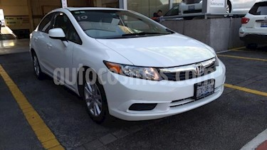 Foto Honda Civic 4p EX-L Sedan L4/1.8 Aut usado (2012) color Blanco precio $160,000