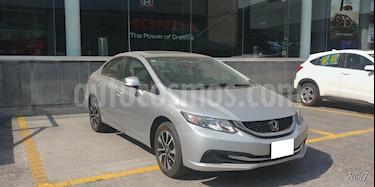 Foto venta Auto usado Honda Civic 4p EX Sedan L4/1.8 Aut (2013) color Plata precio $189,000