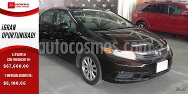 Foto venta Auto usado Honda Civic 4p EX Sedan L4/1.8 Aut (2012) color Negro precio $140,000