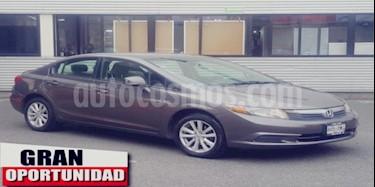 Foto venta Auto usado Honda Civic 4p EX Sedan L4/1.8 Aut (2012) color Gris precio $145,000