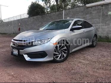 Foto venta Auto usado Honda Civic 4p EX Sedan L4/2.0 Aut (2017) color Plata precio $269,000