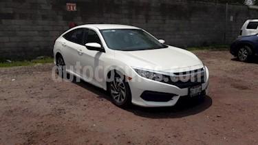 Foto venta Auto usado Honda Civic 4p EX Sedan L4/2.0 Aut (2016) color Blanco precio $259,000