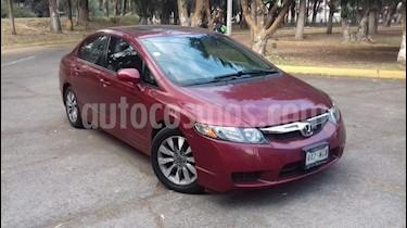 Foto venta Auto usado Honda Civic 4p EXL Aut (2009) color Rojo precio $119,000