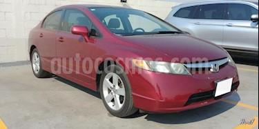 Foto venta Auto usado Honda Civic 4p EXS Aut (2007) color Rojo precio $87,000