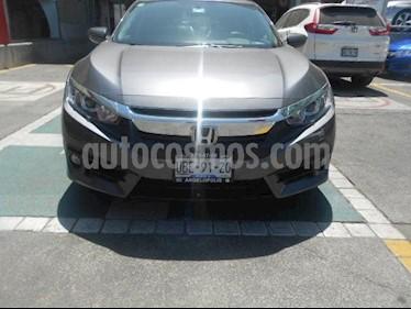Foto venta Auto usado Honda Civic 4p i-Style L4/2.0 Aut (2018) color Naranja precio $330,000