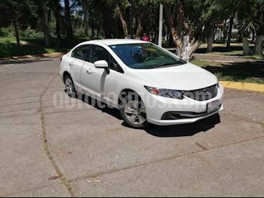 Foto venta Auto usado Honda Civic 4p LX Sedan L4/1.8 Aut (2015) color Blanco precio $219,000