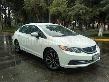 Foto Honda Civic 4p LX Sedan L4/1.8 Aut usado (2015) color Blanco precio $215,000
