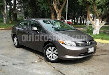 Honda Civic 4p LX Sedan L4/1.8 Aut usado (2012) color Gris precio $145,000