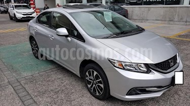 Foto venta Auto usado Honda Civic 4p LX Sedan L4/1.8 Aut (2013) color Plata precio $187,000