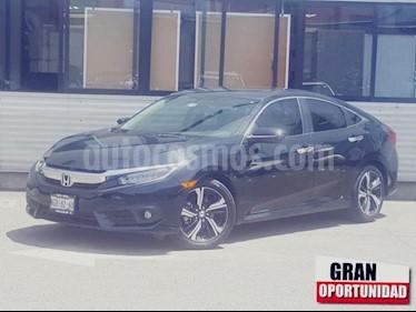 Foto venta Auto usado Honda Civic 4p Touring L4/1.5/T Aut (2018) color Negro precio $370,000