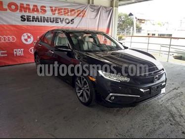 Foto Honda Civic 4p Touring L4/1.5/T Aut usado (2019) color Negro precio $441,900