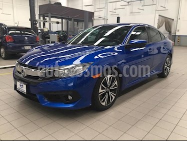 Foto Honda Civic 4p Turbo Plus L4/1.5/T Aut usado (2016) color Azul precio $295,000