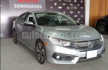 Foto venta Auto usado Honda Civic 4p Turbo Plus L4/1.5/T Aut (2016) color Plata precio $309,000
