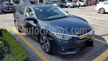 Foto Honda Civic 4p Turbo Plus L4/1.5/T Aut usado (2017) color Azul precio $319,000