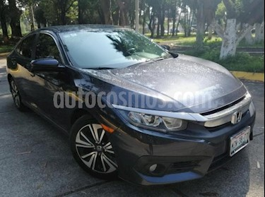 Foto Honda Civic 4P TURBO PLUS SEDAN CVT 1.5T 174 HP PIEL QC GPS RA usado (2016) color Azul precio $285,000