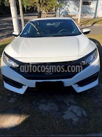 Honda Civic 2.0 EX Aut usado (2017) color Blanco Tafetta precio $1.400.000