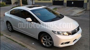 Honda Civic 1.8 EXS usado (2012) color Blanco Tafetta precio $850.000