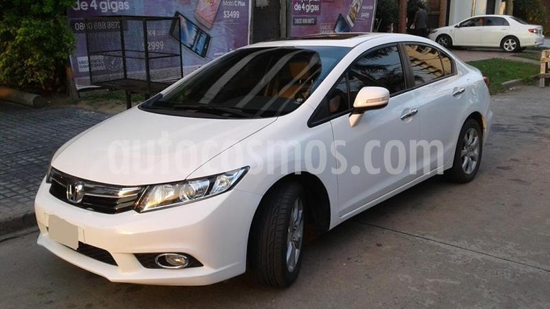 Honda Civic 1.8 EXS usado (2012) color Blanco Tafetta precio $980.000