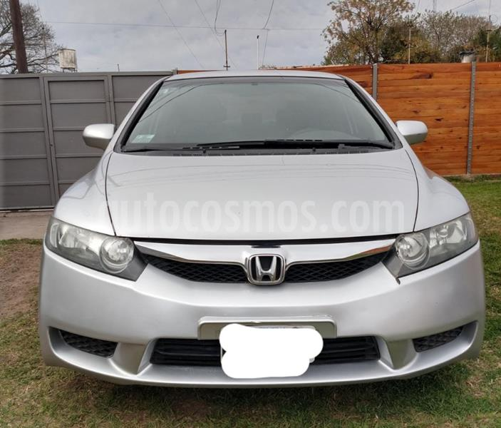Honda Civic 1.8 LXS Aut usado (2011) color Plata precio $880.000