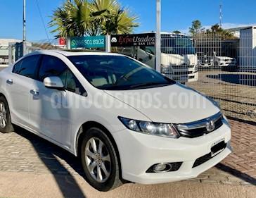 Honda Civic 1.8 LXS Aut usado (2014) color Blanco precio $855.000