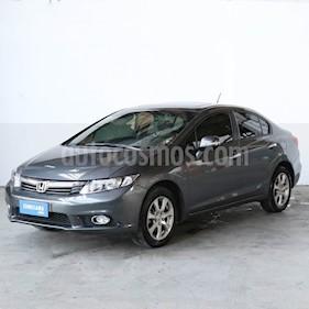 Honda Civic 1.8 EXS usado (2012) color Gris precio $614.000